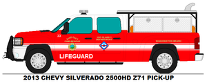 Vice City Fire Dept. Lifeguard 33 by MisterPSYCHOPATH3001