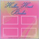 Hollow-Heart Border Pack by Wisp-Night