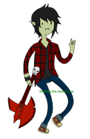 Bad Little Boy - Marshall Lee by GaaMiyu