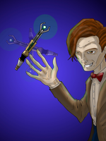 Doctor Who by caostrout