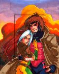 Rogue and Gambit AP by CapnFlynn