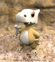 Cubone by Abellia