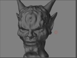 Devil - ZBrush by dondiablorocks