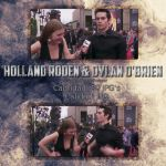 Photopack #27 - Holland Roden and Dylan O'Brien by DamageDoneIsForever