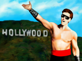 Mortal Kombat - Johnny Cage - Ending 2 by JhonatasBatalha
