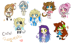 Quick Chibi Requests by koyame