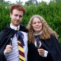Ron and Hermione by majann