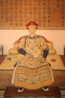Mural of Emperor Yongzheng by jawg1982