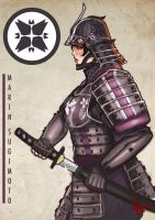 Samurai Marin of the Sugimoto Clan by togigata