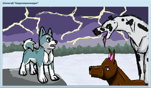 GDW art with Hougen1Murre1 and Wolfox3 by Cenadramon