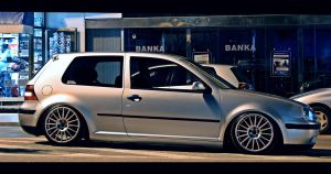 slammed golf mk4 by SkicaDesign