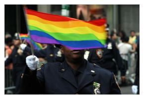 Prideful Policeman by bigcbigc