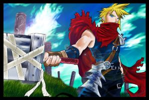 Cloud Strife by dreamwatcher7