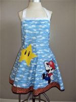 Mario dress take 2 by Alien-Phant