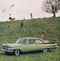 age of chrome and fins: 1959 Chevrolet by Peterhoff3
