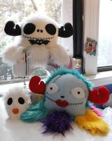 Nightmare Before Christmas Monster Family by loveandasandwich