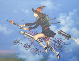 The Persimmon Witch by kolaboy