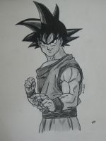 Dragon Ball Goku by trazor29