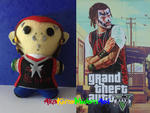GTA V Plushes: Wade Hebert by AkaKiiroMidoriAoi