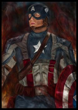 Captain America by shindy89