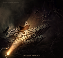My Signature (Wild Uncovered) 3D Typography by VasanRajeswaran