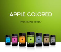 Apple Colored - iPhone iPad by miel-g