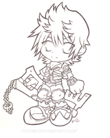 Ventus Lineart by Tsiomi