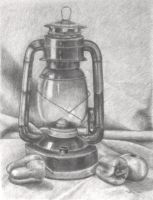Still Life Lantern by tiffc