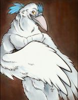 White Raven by marymouse