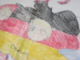 Close up on solely Germany~! by Kage-Kyoodai