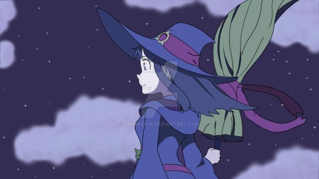 Little Witch Academia by raimation