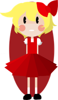 Little Red Lady by Sellotape-of-Love