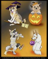 $2.00 Wolf HALLOWEEN pup ( All Sold) by NatsumeWolf