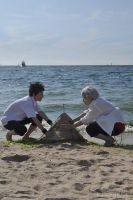 8059:A sand castle by fullmetalflower