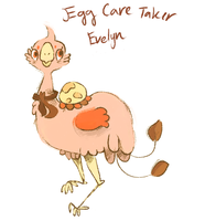 Egg Care Taker Evelyn by Teatime-Rabbit