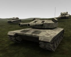 Mammoth Tanks by HolgerL