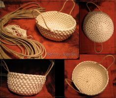Basket Rope and Cotton by Rori2