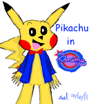 Pikachu in The Anime Show by Axel-DC64