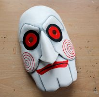Jigsaw from Saw leather mask by Masktastic