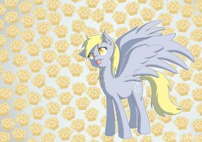 Derpy Hooves by nerow94
