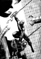 Spiderman vs dr octopus 111 by dfbovey