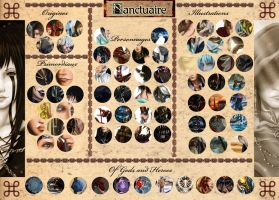 Sanctuaire: Exclusive Artworks Preview by DameOdessa