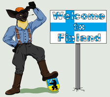 Welcome to Finland 1/2 by theHyenasSBE