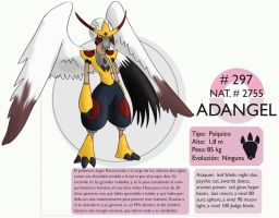 Pokemon Oryu 297 Adangel by shinyscyther