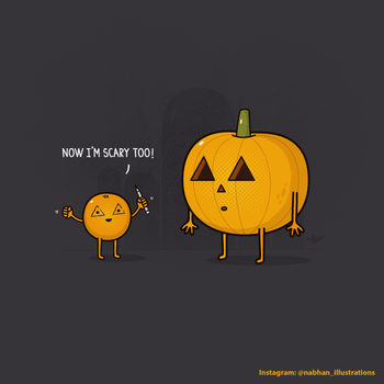 The Art of Being Scary by NaBHaN