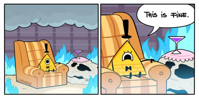 this is fine by Damare