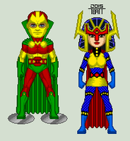Mister Miracle and Big Barda by EverydayBattman