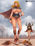 The Wondrous and Powerful Supergirl by expansion-fan-comics