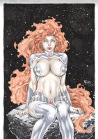 Starfire by Fred Benes by Ed-Benes-Studio