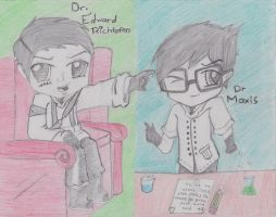 Little Scientist:Richtofen And Maxis by Sniper-Huntress